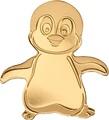 Острова Кука 1 доллар 2018 Маленький Императорский Пингвин (Cook Isl. 1$ 2018 Little Emperor Penguin).Арт.60