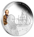 Тувалу 1 доллар 2009 Чарльз Дарвин 200 лет Корабль (Tuvalu 1$ 2009 Charles Darwin 200th Anniversary).Арт.69