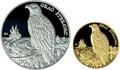 Хорватия 150 + 500 кун 1997 Баранья Орлан-белохвост Набор 2 монеты (Croatia 500+150 Kuna 1997 Baranja Orao Stekavac Gold Silver Set).Арт.000475016629K2,5/60