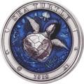 Барбадос 5 долларов 2018 Морская Черепаха Подводный Мир (Barbados 5$ 2018 Sea Turtle Underwater World).Арт.60