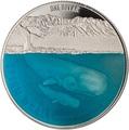 Новая Зеландия 1 доллар 2018 Кашалот Кит (New Zealand 1$ 2018 Sperm Whale).Арт.000528655556/60