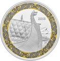 Канада 20 долларов 2018 Корабль Дракон Корабли Викингов (Canada 20C$ 2018 Ship Norse Figureheads Dragon's Sail).Арт.000441155501/60