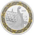 Канада 20 долларов 2018 Корабль Дракон Корабли Викингов (Canada 20C$ 2018 Viking Ships Dragon's Sail).Арт.000441155501/60