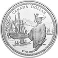 Канада 1 доллар 2018 Капитан Кук Корабль (Canada 1C$ 2018 Ship 240th Anniversary of Captain Cook at Nootka Sound).Арт.000252655487/60