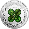 Канада 20 долларов 2018 Клевер (Canada 20C$ 2018 Lucky Four Leaf Clover).Арт.000441155497/60