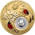 Ниуэ 2 доллара 2013 Божья Коровка Монеты на Удачу (Niue 2$ 2013 Lucky Coin Ladybug GPL).Арт.000330349047/60