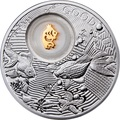 Ниуэ 2 доллара 2013 Золотая Рыбка Монеты на Удачу (Niue 2$ 2013 Lucky Coin Gold Fish).Арт.000330349057/60