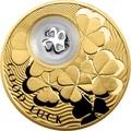 Ниуэ 2 доллара 2013 Клевер Монеты на Удачу (Niue 2$ 2013 Lucky Coin Clover GPL).Арт.000330349051/60