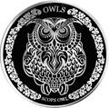 Токелау 5 долларов 2018 Сова Сплюшка (Tokelau 5$ 2018 Scops Owl).Арт.60