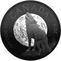 Канада 20 долларов 2018 Воющий Волк Луна Ночная природа (Canada 20C$ 2018 Nocturnal by Nature Howling Wolf).Арт.60