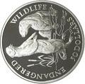 Острова Кука 50 долларов 1991 Выдры (Cook Isl. 50$ 1991 Otters Endangered Wildlife).Арт.000045712160/60