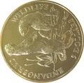 Острова Кука 5 долларов 1991 Выдры (Cook Isl. 5$ 1991 Otters Endangered Wildlife).Арт.000021615076/60
