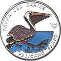 Куба 10 песо 1994 Пеликан Карибская Фауна (Cuba 10 pesos 1994 Caribbean Fauna Pelican).Арт.60