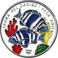 Куба 10 песо 1996 Рыбы Vaca Anil Карибская Фауна (Cuba 10 pesos 1996 Caribbean Fauna Vaca Anil).Арт.60