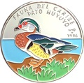 Куба 10 песо 1996 Утка Pato Huyuyo Карибская Фауна (Cuba 10 pesos 1996 Caribbean Fauna Pato Huyuyo).Арт.60
