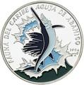 Куба 10 песо 1994 Рыба Марлин Aguja de Abanico Карибская Фауна (Cuba 10 pesos 1994 Caribbean Fauna Aguja de Abanico).Арт.60