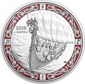 Канада 20 долларов 2018 Путешествие Викингов Корабли Викингов (Canada 20C$ 2018 Viking Ships Viking Voyage).Арт.60