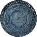 Ниуэ 1 доллар 2018 Метеоритный кратер Пингуалуит (Niue 1$ 2018 Pingualuit Meteorite Crater).Арт.60