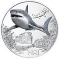 Австрия 3 евро 2018 Акула (Colourful Creatures The Shark Austria 3 euro 2018).Арт.60