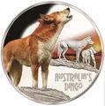 Тувалу 1 доллар 2018 Динго серия Смертельно Опасные (Tuvalu 1$ 2018 Deadly and Dangerous Dingo 1oz Silver Coin).Арт.000403156171/92