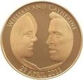 Великобритания 5 фунтов 2011 Королевская Свадьба Уильям и Кэтрин (GB 5£ 2011 Royal Wedding William Catherine).Арт.009995256064