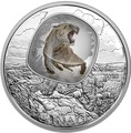Канада 20 долларов 2018 Саблезубый Тигр Замороженные во Льду (Canada 20C$ 2018 Frozen in Ice Scimitar Sabre-Tooth Cat Tiger).Арт.000480556116/63