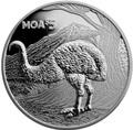 Новая Зеландия 5 долларов 2018 Моа Птица (New Zealand 5$ 2018 Moa Bird).Арт.000562056144/63