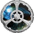 Канада 20 долларов 2018 Звездный Путь Глубокий Космос Девять (Canada 20$ 2018 Star Trek Deep Space Nine).Арт.63