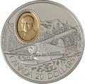 Канада 20 долларов 1991 Бобр Де Хэвилленд Филипп Гарретт Авиация (Canada 20$ 1991 Aviation Series De Havilland Beaver Phillip C.Garratt 1oz Silver Coin).Арт.68