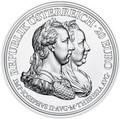 Австрия 20 евро 2018 Мария Терезия Благоразумие и Реформа (Austria 20 Euro 2018 Maria Theresa Prudence and Reform).Арт.