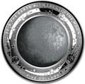 Австралия 5 долларов 2019 Луна серия За Пределами Земли Выпуклая (Australia 2019 $5 The Earth and Beyond The Moon Silv Proof Domed Coin).Арт.69
