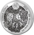 Руанда 50 франков 2019 Год Свиньи Лунный Календарь (2019 Rwanda 50 Francs Year of the Pig Lunar Ounce Silver Proof).Арт.69