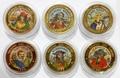Куба 6х50 песо 1995 Пираты Карибского Моря Набор Пробников Пьедфорт (Cuba 6х50 pesos 1995 Pirates of the Caribbean Coins Set Pattern Piedfort).Арт.000557437734/69
