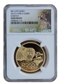 Южная Африка 200 рандов 2016 Гепард (South Africa 200R 2016 National Geographic Big Cats Cheetah 1Oz Gold).Арт.69