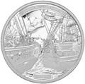 Канада 30 долларов 2013 Корабли Шаннон и Чесапик (Canada 30$ 2013 Ship HMS Shannon & USS Chesapeake Silver Coin 5oz).Арт.001615544804/67