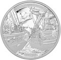 Канада 50 долларов 2013 Корабли Шаннон и Чесапик (Canada 50$ 2013 Ship HMS Shannon & USS Chesapeake Silver Coin 5oz).Арт.003443044804/69