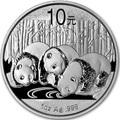 Китай 10 юаней 2013 Панда (China 10 Yuan 2013 Panda 1oz Silver Coin).Арт.001200143370/67