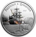 Антигуа и Барбуда 2 доллара 2018 Корабль Рамраннер (Antigua&Barbuda 2$ 2018 Ship Rum Runner 1Oz Silver Coin).Арт.000559956326