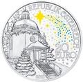 Австрия 20 евро 2018 Тихая Ночь 200 лет Рождественскому Христианскому Гимну (Austria 20 Euro 2018 Silent Night).Арт.67