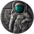 Камерун 3000 франков 2019 Аполло 11 Луна (Cameroon 3000 Francs 2019 Apollo 11 Moon landing 3 Oz Silver Coin).Арт.67