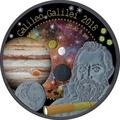 Гана 5 седи 2018 Сокровища Вселенной II Галилео Галилей 8 металлов Космос 8 в 1 (Ghana 2018 5 cedis Treasures Of The Universe II Galileo Galilei 8 In 1 Coin Sensation 1oz Silver).Арт.67