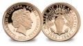Гибралтар 1 соверен 2016 Битва за Атлантику Корабль Либерти (Gibraltar 1 Sovereign 2016 Battle of Atlantic Ship Liberty Gold Coin).Арт.67
