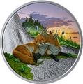 Канада 20 долларов 2019 Лиса Животные Канады (Canada 20$ 2019 Canadian Fauna The Fox Silver Coin).Арт.67