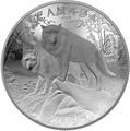 Канада 100 долларов 2019 Волки Величие Природы Выпуклая Двойная Толщина (Canada 100$ 2019 Wolves Nature's Grandeur Series Piedfort Concave 10 oz Silver Coin).Арт.67