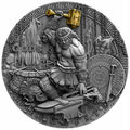 Ниуэ 2 доллара 2019 Гефест Бог Кузнецов (Niue 2019 2$ Hephaestus God of Blacksmiths Gods 2 oz Antique Finish Silver Coin).Арт.67