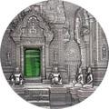 Палау 10 долларов 2019 Ангкор Кхмерская Архитектура серия Тиффани (Palau 10$ 2019 Angkor Tiffany Art 2 oz Silver Coin).Арт.67