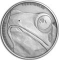 Ниуэ 1 доллар 2019 Лягушка Животные Чемпионы (Niue 1$ 2019 Frog Animal Champions 1 oz Silver Coin) Буклет.Арт.67