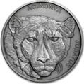 Ниуэ 1 доллар 2019 Гепард Животные Чемпионы (Niue 1$ 2019 Cheetah Animal Champions 1 oz Silver Coin) Буклет.Арт.67