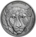 Ниуэ 1 доллар 2019 Гепард Животные Чемпионы (Niue 1$ 2019 Cheetah Animal Champions 1 oz Silver Coin) Буклет.Арт.67