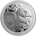 Новая Зеландия 5 долларов 2019 Птица Такахе (New Zealand 5$ 2019 North Island Takahe Silver Proof Coin).Арт.67